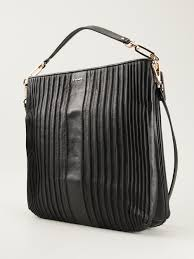 Lyst - Coach Madison Hobo Shoulder Bag in Black