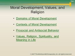 life span development ppt video online  2 moral development
