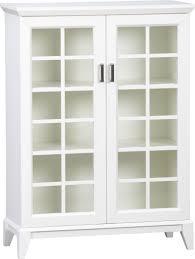 storage cabinet glass doors cymun designs