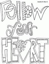 All Quotes Coloring Pages Doodle Art
