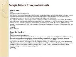 Service Animal Doctors Note Service Dog Letter Template Animal Doctors Note Yolar Cinetonic Co