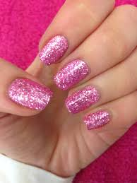 Time to Sparkle Pink Tourmaline loose nail art glitter. Created by ...