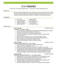 Show Resume Examples Free Resume Templates