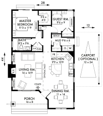 Small House Plans 2 Bedroom 2 Bedroom Cottage Floor Plans Bedroom Cabin Cottage House Plans