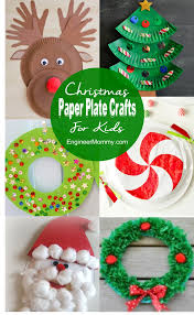 Paper Plate Christmas Wreaths  Things To Make And Do Crafts And Christmas Paper Plate Crafts