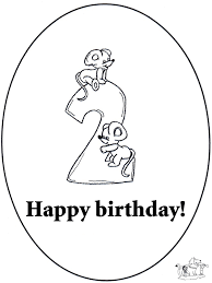 Kleurplaten Fijne Verjaardag