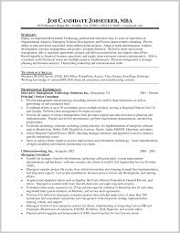 Sample Resume Mba Marvelous Mba Resume Sample 24 Resume Sample Ideas 1