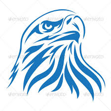 bald eagle template best photos of bald eagle head template printable blue eagle head