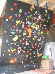 build your own home rock climbing wall