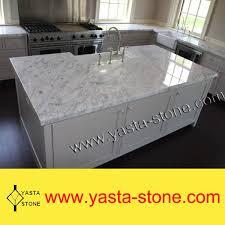 Small Picture Carrara Marble White Stone Kitchen Island Price Buy Kitchen