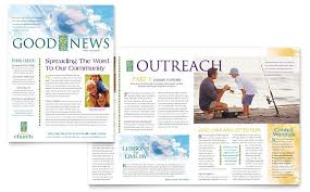 School Newspaper Template Publisher Church Bulletin Templates Microsoft Publisher Church Bulletin