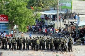 Kết quả hình ảnh cho biểu tình ở bình thuận