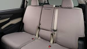 details about 2019 subaru ascent second row bench seat cover polyester new f411sxc000 genuine