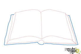 easy open book drawing