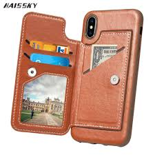 luxury flip leather wallet case for iphone x 7 8 plus 6 6s plus case card magnetic cover for iphone 10 phone accessories phone case custom phone cases from