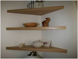 impressive wall mounted corner shelves with