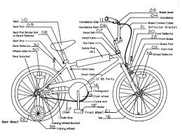 Bike engine parts list best trike bicycle part names in french cute