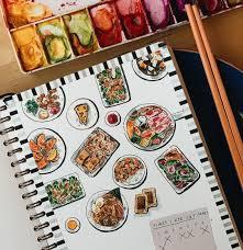 Basic Watercolor Food Meal Watercolor 9 June