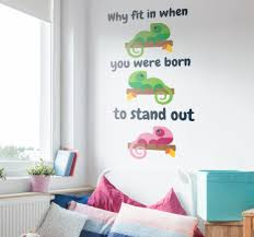 In Quote Dr Seuss Fit In Quote Wall Sticker