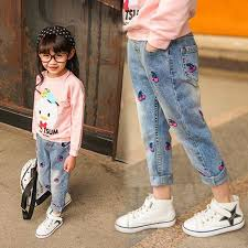 Online Shop Kids Jeans for <b>Spring and Autumn</b> Children's Wear ...