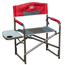 timberridge aluminum portable director s folding chair with side table com