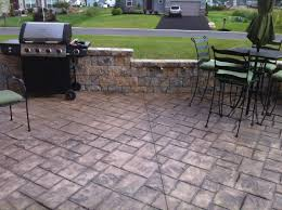 concrete patio designs with fire pit. Stamped Concrete Patio Landscaping With Fire Pit Ideas Plus Simple Designs Together