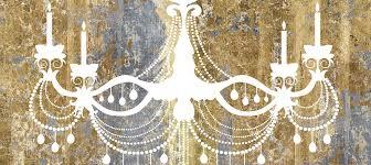 chandeliers canvas prints