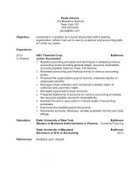 Accountant Resume Beauteous Resume Accountant Objective Resume Project Accountant Objective