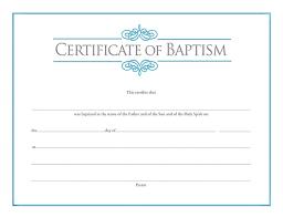 Baptism Certificate Baptism Certificate Cokesbury