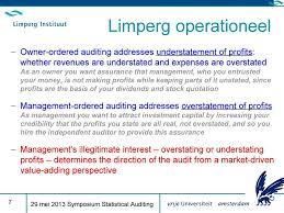 Continuous Auditing. Philip Elsas. 29 Mei 2013 Symposium Statistical ...