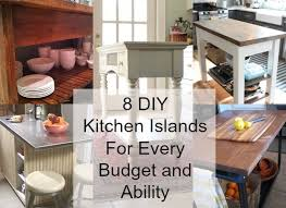 cheap kitchen island ideas. 8 DIY Kitchen Islands You Can Create Cheap Island Ideas S