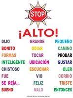 best spanish classroom posters images spanish  this spanish version of our do not go here poster has some of the