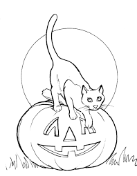 Small Picture How to drawing Halloween cats and colouring pages for Kids