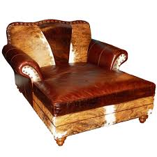 western leather furniture cowboy furnishings from lones star western decor buy chaise lounge leather