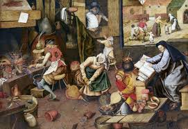 francois marius granet the alchemist art blart pieter brueghel the younger after pieter brueghel the elder the alchemist