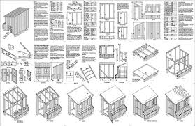 x      Lean to Chicken Hen House Coop Plans L    About the Sample