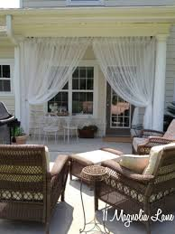 screened porch sheer curtains. Back Porch Savannah Screened Sheer Curtains