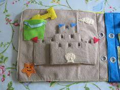 sandcastle quiet book page