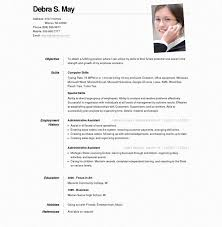 Resume Template Resume Online Template Free Career Resume Template