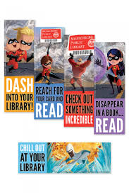 The Incredibles Bookmarks Ala Store