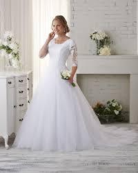 bonny bridal bliss modest collection wedding dresses