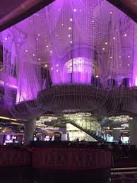 the cosmopolitan of las vegas autograph collection chandelier bar and lounge
