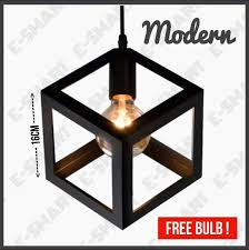e smart square designer best er industrial loft pendant light best er ceiling light