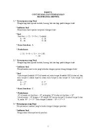 Maybe you would like to learn more about one of these? Doc Paket 1 Contoh Soal Dan Pembahasan Matematika Smp Mts Agnesi Sekarsari Putri Academia Edu
