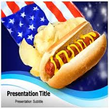 america ppt template amazon com american food culture powerpoint templates american