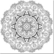 Small Picture Nature Mandalas Coloring Book Pdf Coloring Pages