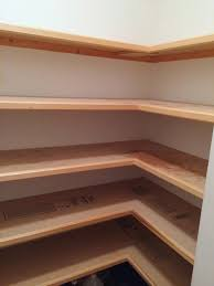 building wood shelves for basement thediyworld com pantry wooden close full size