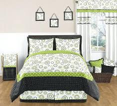 lime green bedding sets and black background for comforter remodel 16
