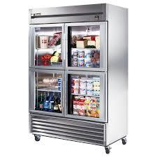 creative true ts g inch and glass door refrigerators in glass door refrigerator