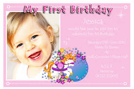 1st birthday party invitations for makes the birthday invitation template more exclusive 11